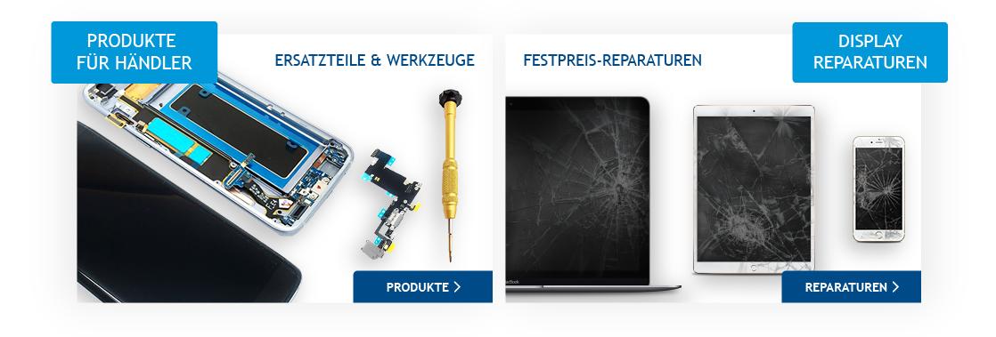 Produkte für Händler / Display Reparaturen