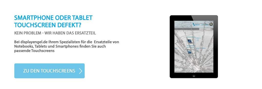 Smartphone oder Tabletscreen defekt?